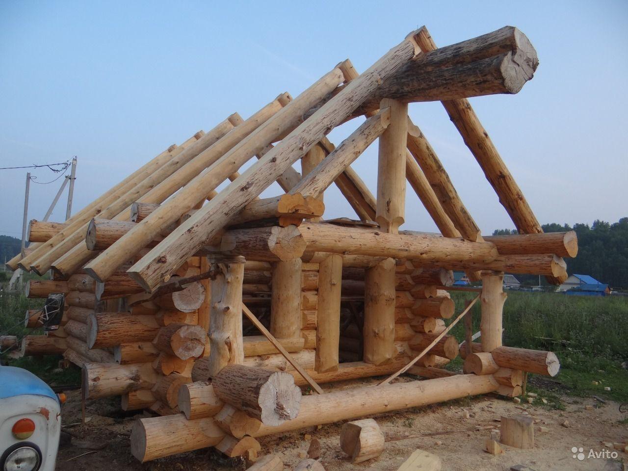 Как сделать деревянный сруб для дома 811